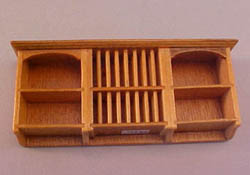 "John Baker 1/2"" Scale Miniature Golden Kitchen Wall Cupboard"