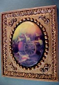 Jim Coates Miniatures Framed Revolution Cameo