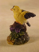 "J Kendall 1"" Scale Gold Finch Statue"