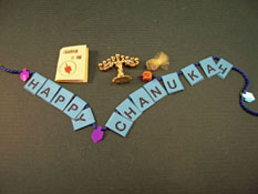 "By Barb 1"" Scale Chanukah Set"