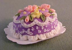 "Bright deLights 1"" Scale Fancy Easter Cake"