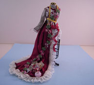 """1"""" Scale Hand Crafted Loretta Kasza Sewing Mannequin"""