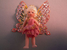 "Loretta Kasza 1"" Scale Hand Crafted Pamela The Tiny Fairy Doll"