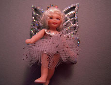 "Loretta Kasza 1"" Scale Hand Crafted Sarah The Tiny Fairy Doll"