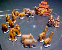 "J Kendall 1"" Scale Noah's Ark Set"