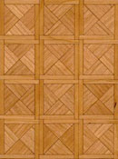 "Brodnax 1/2"" Scale Paris Cherry Parquet Flooring Kit"
