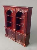 "Bespaq 1/2"" Scale Mahogany Randall Double Bookcase"