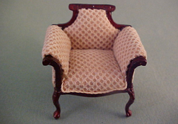 "1/2"" Scale Bespaq Mahogany Emporium Shoe Department Chair"