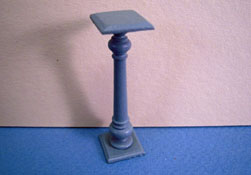 "Bespaq 1/2"" Scale Blue Cottage Plant Stand"