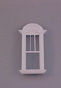 "Majestic Mansions 1"" Scale Miniature Newport Decorated Single Window"