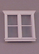 "Majestic Mansions 1"" Scale Miniature Atherton Double Window"