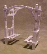 "Townsquare 1/2"" Scale Patio Double Garden Bench"