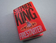 "1"" Scale Artisan Miniatures Hand Crafted Printed Book ""Firestarter"""
