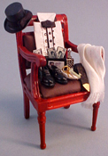 "Taylor Jade 1"" Scale Hand Crafted Gentleman's Chair"