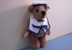 "World Of Miniature Bears 1"" Scale Sailor Bear"