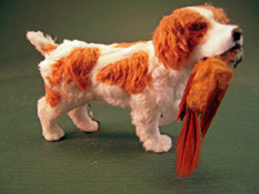 "Alice Zinn 1"" Scale Miniature Hand Crafted Zach The Brittany"